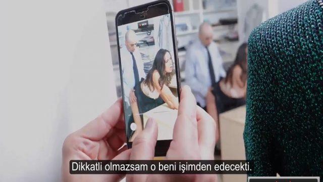 Tehdit Edip Şantajla Sikiş Sekreter Videosu