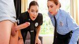 Hırsızın Eline Kelepçe Sikine Amcık Vuran Kadın Polisler