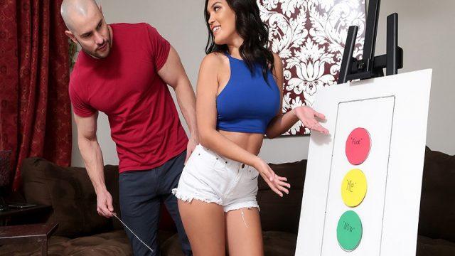 Kocasının Görsel Zeka Eğitmeni Arkadaşından Seks Zekası Öğrendi