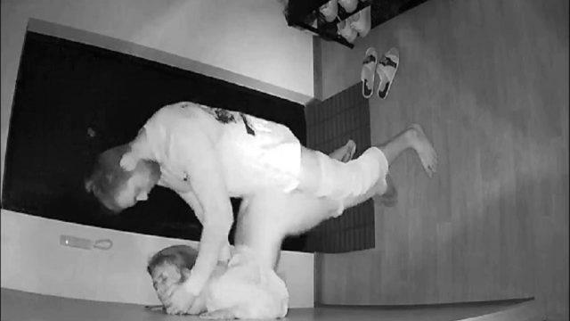 Lobide Sikişen Azgın Çiftleri Güvenlik Kamerası Çekti