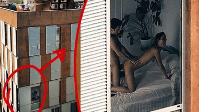 Karşı Binada Seks Yapanların Videosunu Çeken Röntgenci