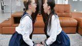 Sikişmeye Başlayan Liselilerin Zenci Yarağı Şaşkınlığı