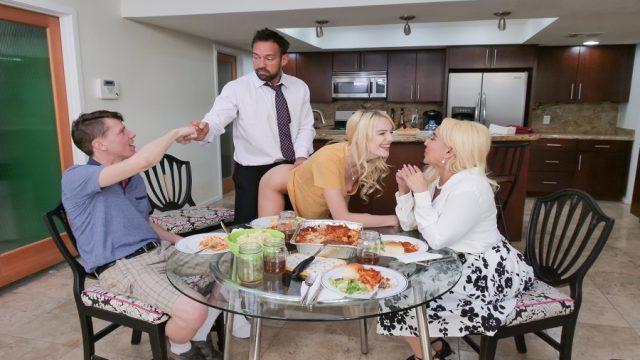 Yemeğe Gelen Arkadaşlar Eşlerini Değiş Tokuş İkram Etti