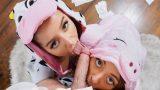 Pijamalı Yanık Kızlar Abisi Gibi Gördükleri Adamı Zorladı