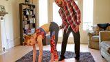 Yoga Yaparken Taytı Yırtılan Baldızının Deliğini Diken Enişte