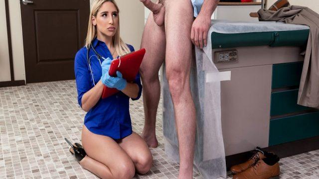 Muayenede Siki Kalkan Hastayla Doktorun Şaşkınlığı Sikişe Döndü