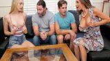 Üvey Oğlunun Nişanlısı Kocasının Yanında Memelerini Açınca