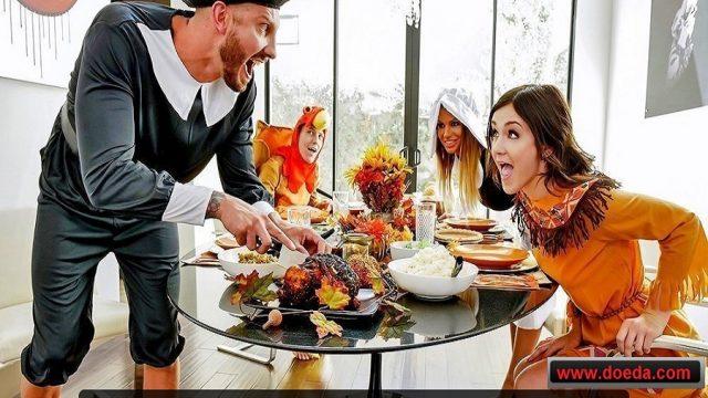 Kutsal Yemekte Eşlerini İkram Eden Uzak Akrabalar