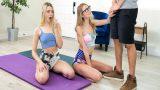 Pilates Yapan Kuzenlerinin Topu Patlayınca Kendi Topçuklarını Verdi