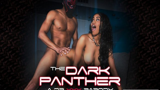 Maskeli Kara Panter ile Kıvırcık Pumanın Vahşi Buluşması