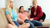 Nişanlısına Verirken Gelen Milf Üvey Annenin Sex Müdahalesi