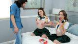 İzci Kızların Takım Arkadaşı Olmak İçin Sikini Kullanması Gerekti